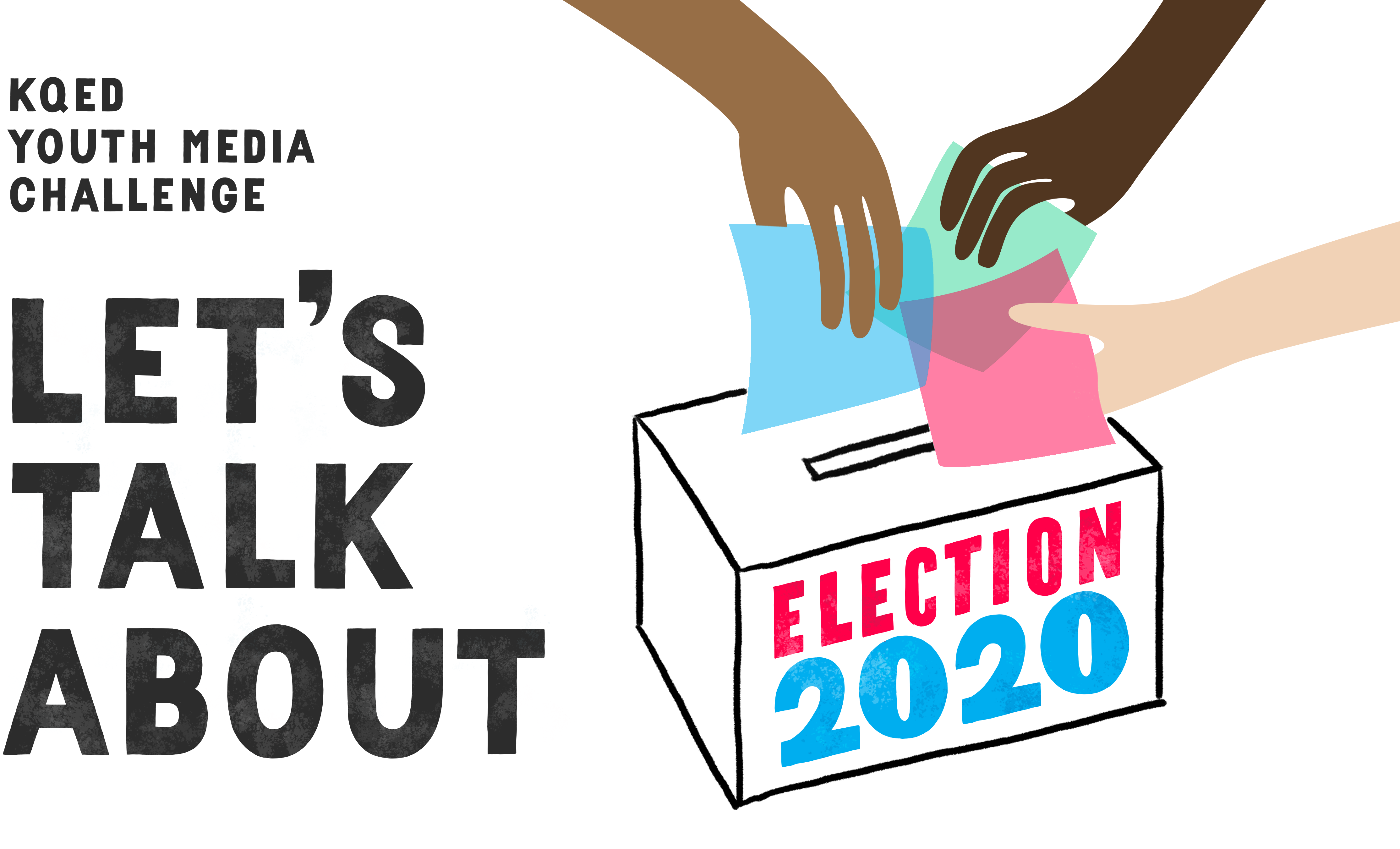 Let's Talk About Election 2020 - Vote Box